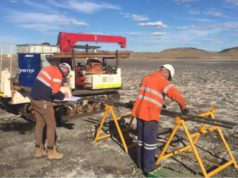 New Century Resources NCZ ASX zinc mine tailings infill drilling program