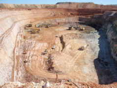 Empire Resources ERL ASX Penny's Find gold pit