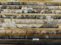 Ardiden ADV Seymour Lake Canada lithium drill core