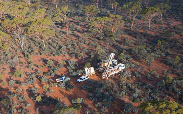 Draig Resources ASX DRG gold Tribune discovery drilling Bellevue
