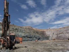 Empire Resources ASX ERL Penny's Find gold mine open pit drill blast