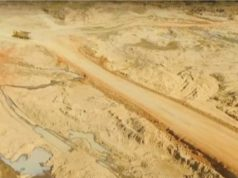 Mining activity at Kanuka open pit lithium Force Commodities 4CE