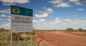 Doray Minerals ASX DRM Deflector gold project
