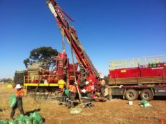 Helix Resources ASX HLX Collerina drilling