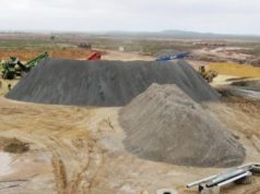 Empire Resources ASX ERL crushed stockpile Penny's Find gold ore Lakewood Mill