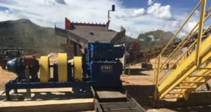 Orinoco Gold ASX OGX Cascavel Brazil hammer mill installed