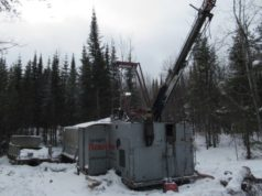 Sayona Mining ASX SYA Authier lithium project drilling