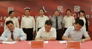 Fluence Corporation ASX FLC water treatment China tripartite framework agreement