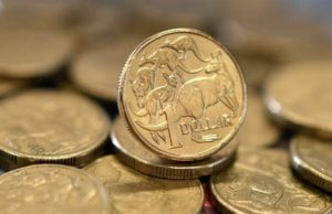 Australian dollar hit fall tariff war AUD currency Aussie