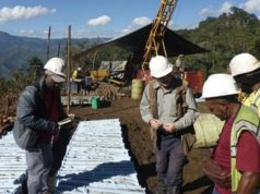 Gold Mountain ASX GMN copper gold mineralisation Mongai Creek porphyry