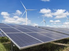 Australia renewable energy electricity 2030 Paris climate agreement wind solar carbon emissions