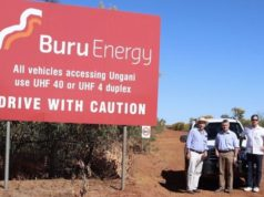 Buru Energy ASX BRU Ungani well onshore Canning Basin