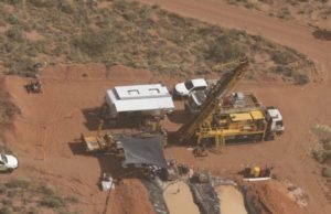 Rio Tinto copper Pilbara drill rig Paterson
