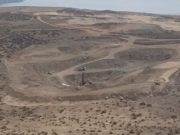 Freehill Mining ASX FHS copper gold Yerbas Beunas Chile induced polarisation