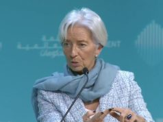 IMF chief Christine Lagarde warns four clouds global economic storm International Monetary Fund