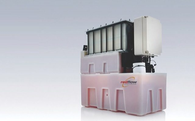 Redflow ASX RFX China ZBM2 zinc bromine flow battery