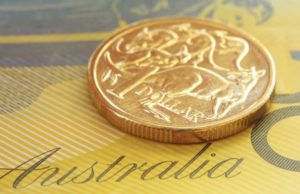 Australian dollar fall AUD USD 2019 currency interest rates iron ore