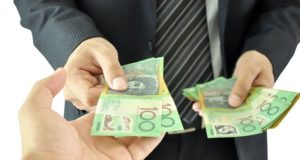 Cash in hand payments Australian Tax Office ATO deductions