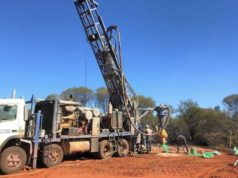 Lithium Australia ASX LIT Youanmi project intersections RC drilling