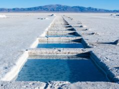Lithium production longer term demand mining