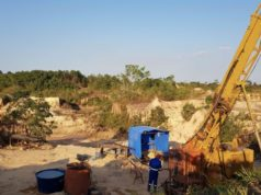 Meteoric Resources ASX MEI Novo Astro drill targets historic workings gold Brazil