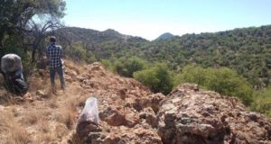 Azure Minerals ASX AZS Alacran project Mexico silver samples base metals