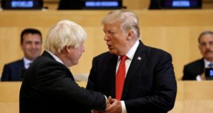 Market Donald Trump Boris Johnson ASX stocks
