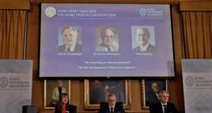 Nobel Prize chemistry 2019 lithium ion battery