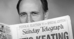 Paul Keating economy former prime minister idling at the lights