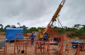 Meteoric Resources ASX MEI Novo Astro Brazil visible gold