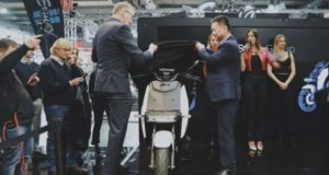 Vmoto ASX VMT electric scooter Esposizione Internazionale motorcycle show