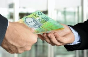 Cash payments $10000 law Australia