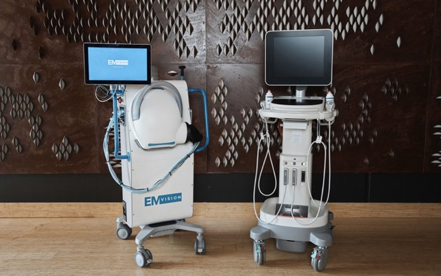 EMVision Medical Devices clinical trial first stroke patient images ASX EMV