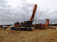 Navarre Minerals ASX NML Resolution Lode Stawell gold drilling