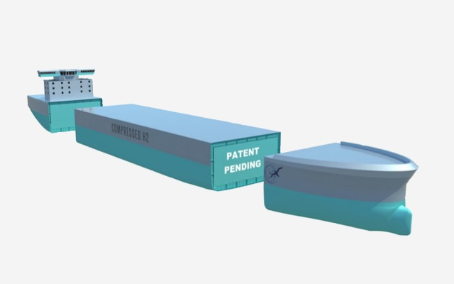Global Energy Ventures ASX GEV compressed Hydrogen ship H2