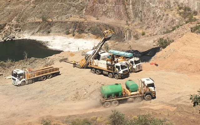 Meteoric Resources ASX MEI Palm Springs gold Southern Extension