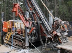 Kalamazoo Resources KZR ASX Lightning Prospect Castlemaine Gold Project diamond drilling