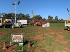 RareX Kincora Copper Trundle ASX REE TSX-V KCC drilling