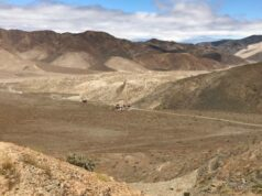 Tesoro Resources ASX TSO El Zorro geophysical survey Ternera GAIP