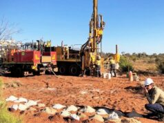 Carawine Resources ASX CWX gold discovery Western Australia Tropicana North