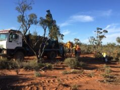 Lefroy Exploration ASX LEX Burns gold copper mineralisation drilling