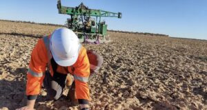 Trigg Mining ASX TMG drilling Lake Throssell sulphate of potash project