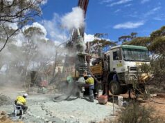 Auric Mining Munda project drill intercept gold ASX AWJ
