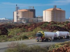 Strandline Resources ASX STA LNG supply agreement Coburn mineral sands project Woodside Energy Pluto