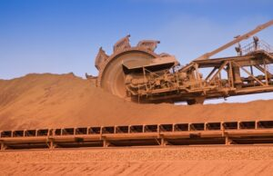 Australia iron ore five years China Guinea coal Brazil