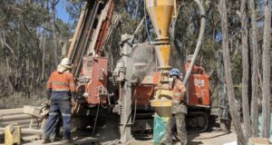 Kalamazoo Resources ASX KZR South Muckleford drilling Tarnagulla Victoria gold Fentiman's Reef Smith's Charcoal Gully