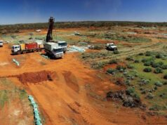 Kin Mining ASX Cardinia gold project mineral resource estimate Eagle Crow Mount Flora Bruno Lewis