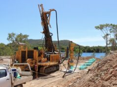 Alice Queen ASX AQX Horn Island RC drilling gold